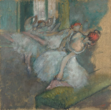 Ballet Dancers by Degas