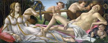 Venus and Mars by Botticelli
