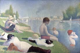 Bathers at Asnieres by Seraut