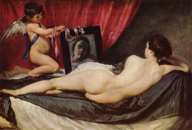 'The Rokeby Venus by Velazquez