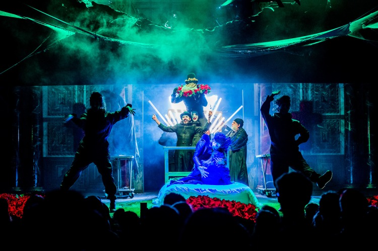 Romeo and Juliet - William Shakespeare - Shakespeare's Globe - 21 April 2017  Director - Daniel Kramer Designer - Soutra Gilmour Choreographer - Tim Claydon Lighting - Charles Balfour