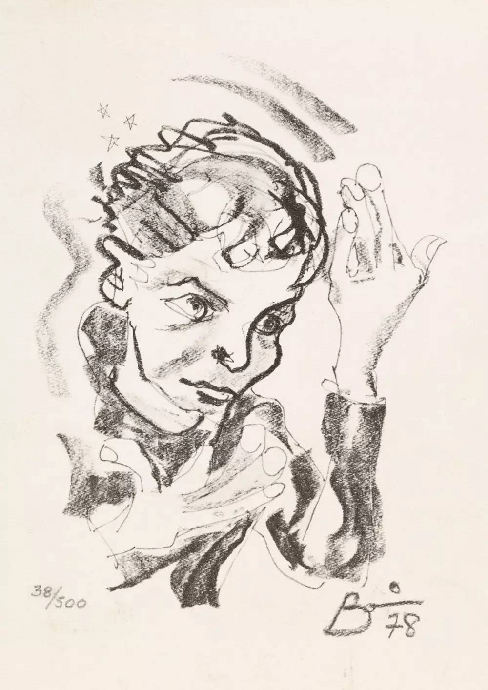 David-Bowie-paintings-selfportrait3